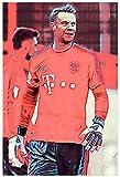 Iooie Poster Und Gedruckte Fußballspieler Manuel Neuer
