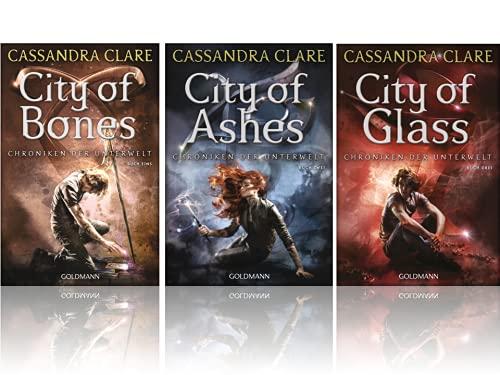 Cassandra Clare   Die Chroniken der Unterwelt - Band 1-3 als Taschenbuch Set   City of Bones + City of Ashes + City of Glass