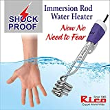 Rico 1500-W Metal Water Heater Immersion Rod, White