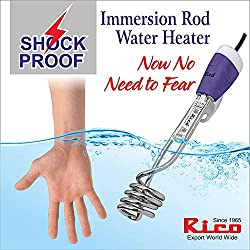 Rico 1500-W Metal Water Heater Immersion Rod, White,Rico,IR 1413