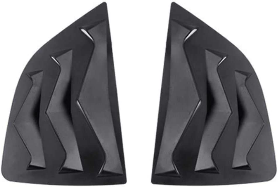 KenKER Car Translated Side Window Louvers Cover for Fit 2014 Max 40% OFF Jazz Honda