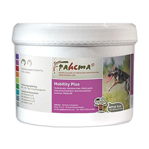 pahema Mobility Plus - Kräutermischung für Hunde zur Unterstützung des Bewegungsapparates (200 g)