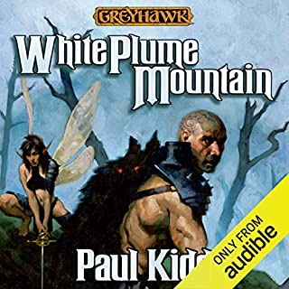 White Plume Mountain audiobook cover art