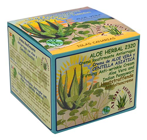 Aloe Herbal 2320 Crema reafirmante antiarrugas con Aloe Vera