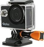 Rollei Actioncam 415 - Potente videocámara de acción con Wi-Fi y resolución de vídeo de...