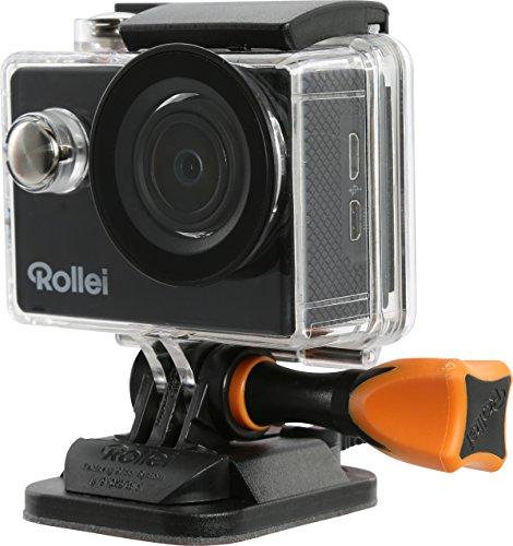 Rollei Actioncam 415 - Potente videocámara de acción con Wi-Fi y resolución de vídeo de 1080p/30 fps - Negro