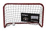 Bandit - Portería de hockey y floorball (90 x 60 x 40 cm), color rojo