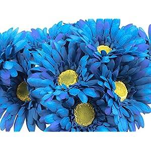 Silk Flower Arrangements CraftMore Gerbera Daisy Stems 14 Inch Set of 12