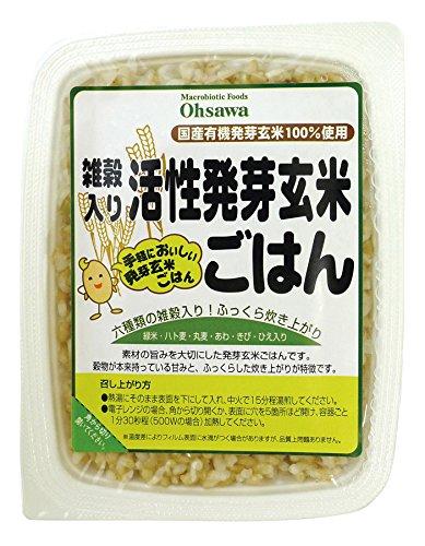 オーサワ 雑穀入り活性発芽玄米ごはん 160g