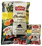 Gefen Organic Whole Roasted and Peeled Chestnuts Grab n  Go 1.23oz Bag (15 Packs)