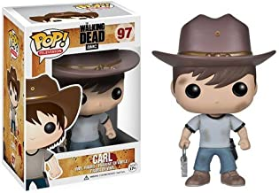Funko POP! Television: The Walking Dead Series 4 Carl Action Figure