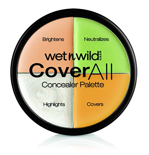 Wet n Wild 4 Colores Coverall Concealer...
