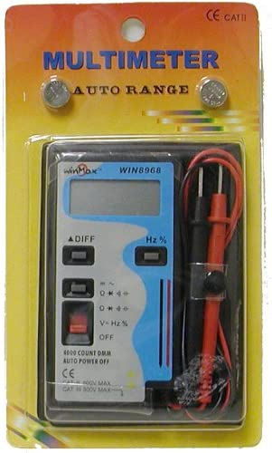 Winmax WIN8968 Pocket-size price Auto-ranging Digital Fashionable Multimeter With
