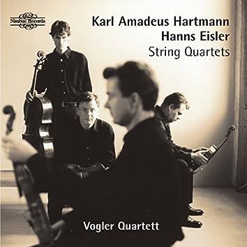 Hartmann & Eisler: String Quartets