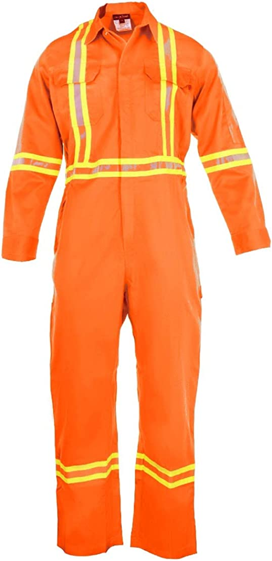 Flame Resistant Choice FR High Visibility Hi Vis Coverall 88% 12% - N 2021 C