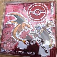 ポケモンセンター アクリルスタンド キーホルダー Pokemon Trainers vol.2 ダンデ リザードントレーナーズ ソード