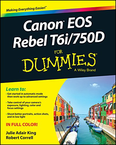 Canon EOS Rebel T6i / 750d for Dummies