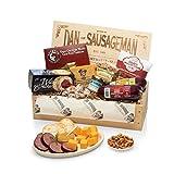 Dan the Sausageman's Favorite Gourmet Gift Basket -Featuring Dan's Original Sausage, Seabear Salmon,...