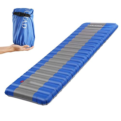 Ultralight Camping Inflatable Air Mattress Mat for Hiking Travel Sleeping Pad