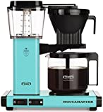 Technivorm Moccamaster 59160 KBG, 10-Cup Coffee Maker, 40 oz, Turquoise