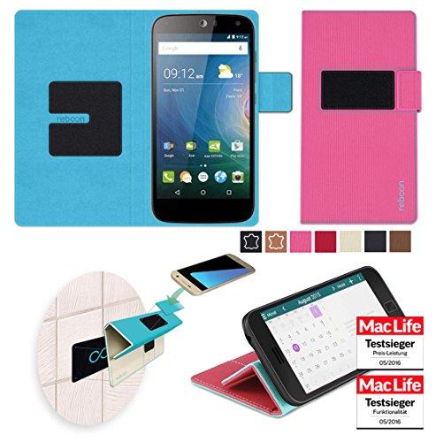 Hülle für Acer Liquid Z630 Tasche Cover Hülle Bumper   Pink   Testsieger