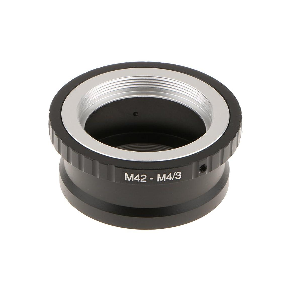 上がるブラジャーバックDovewill カメラアダプターリング M42レンズ マイクロM4 / 3  MFT用 カメラマウント オリンパス M42レンズ Panasonicカメラ適用