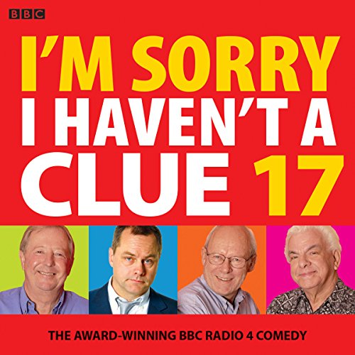 I'm Sorry I Haven't a Clue 17 audiobook cover art