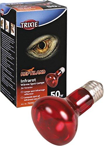 Trixie 76095 Infrarot Wärme-Spotlampe, ø 63 × 100 mm, 50 W