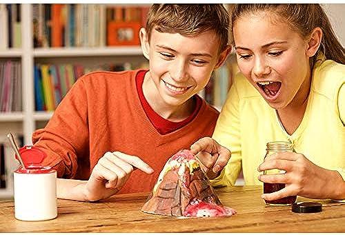 Wissenschaftliches experimentelles Spielzeug, Science Laboratory Kinderpuzzle Kreatives wissenschaftliches Experiment Handbuch DIY Toy Kit, Lernspielzeug