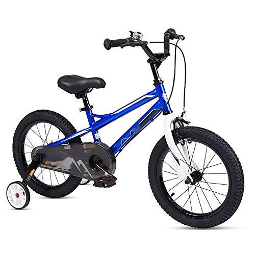 Hanbei 12-20 Zoll Kinderfahrrad,Fahrrad für Kinder, Kinder Trainingsfahrrad, Laufrad Mit Stützrädern und Pedalen, Mädchen und Jungen.