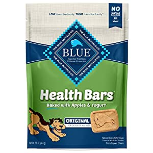 Blue Buffalo Health Bars Mini Natural Crunchy Dog Treats Biscuits