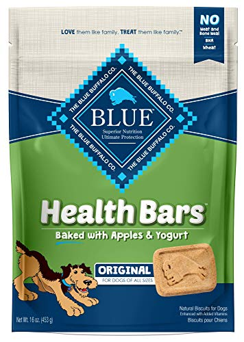 Blue Buffalo Health Bars for Dogs, Apple Yogurt, 16-Ounce Bag by Blue Buffalo