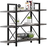 Yitahome 3 Shelf Bookcase for Books/Movies