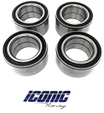 Best Wheel Bearings - Iconic Racing Both Front and Rear Wheel Hub Review