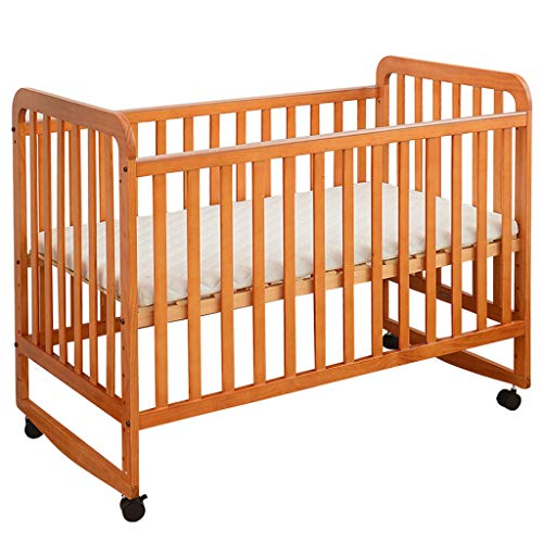 Best Price! YRC 4-in-1 Convertible Crib, Easily Converts to Shaker/Game Bed/Sofa Bed/Desk,5 Position...