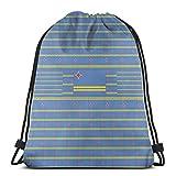 Mochila con cordón de la UE, con la bandera de Aruba con impresión 3D, bolsa de cadena, bolsa de regalo para mujeres, hombres, gimnasio, compras, deporte, yoga