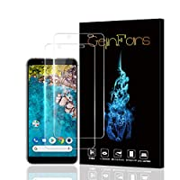 【2枚セット】Android One S7 / AQUOS sense3 basic保護フィルム 強化ガラスフィルム 旭硝子素材 2.5D超薄型 硬度9H 気泡ゼロ 高感度 高透過率 飛散防止処理 指紋防止 衝撃吸収 貼り付け簡単(One S7フィルム)