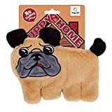 CRINKLE: This crinkle unstuffed soft toy for dogs makes a hard to resist fun crunch sound and is easily chewable for your furry friend. UNSTUFFED: This unstuffed crinkle plush toy is non-stuffed to make a mess free experience for you and your pup. Th...