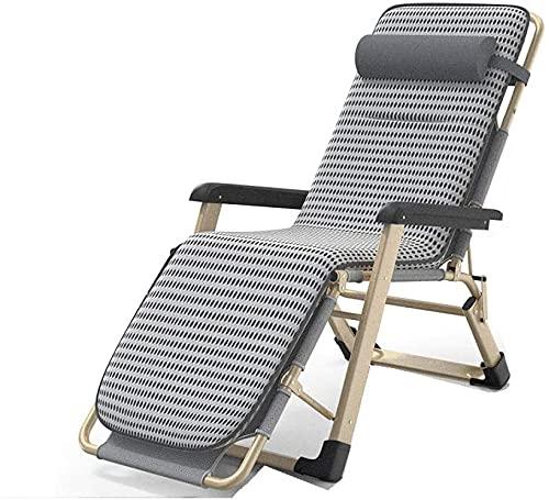 Silla de gravedad cero de reclinación al aire libre Cero gravedad reclinable, plegable cero sillas de gravedad, tumbona reclinable, patio en la playa jardín camping al aire libre relajante silla, múlt