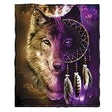 #Wolf #Traumfänger 100x150 oder 125x150 oder 125x200 oder 150x200 cm