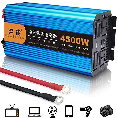 GRX-CAR 4500W omvormer stopcontacten 12V 24V DC tot 220V omvormer spanningsomvormer inverter spanningsomvormer voor auto oplader adapter 24VTO220V