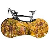 Cubierta de rueda de bicicleta Central Park Mall Ciudad de Nueva York Bicicleta antipolvo Bolsa de almacenamiento interior Resistente a rayones, lavable Paquete de neumáticos de alta elasticidad Carr