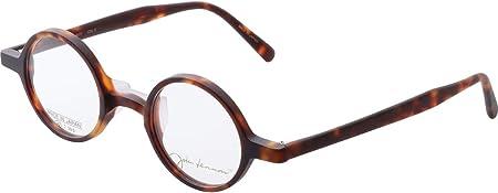小さい 丸 メガネ ジョンレノン John Lennon JL 6017 3 42 丸メガネ ブラウン アセテート 眼鏡 国産 日本製