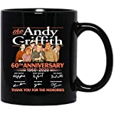 Bravenca Store The Andy #Griffith Show 60th Anniversary 1960-2020 cast Signed Andy #Taylor Barney #Opie #Aunt BeeCoffee Mug Gift for Women and Men Tea Cups
