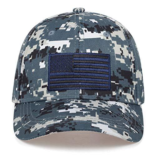 Brandless Nieuwe camouflage serie baseball cap Verenigde Staten vlag patch combat hoed outdoor sport vrije tijd hoeden mannen katoen caps Sport top hoed marineblauw