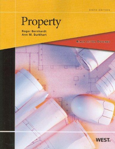 Black Letter Outline on Property (Black Letter Outlines)