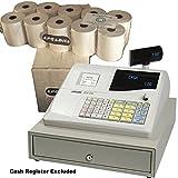 eposbits® marca rollos para Olivetti ecr350350caja registradora–ECR 20rollos