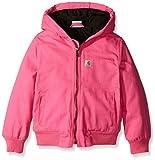 Carhartt Little Girls' Toddler Wildwood Jacket, Raspberry Rose, 3T