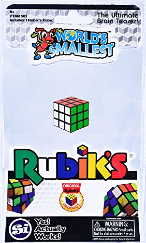 World S Smallest Toys El Rub Mas Pequeno Del Mundo Cubo Rubik Multicolor