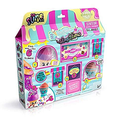 SO SLIME SSC 060 So DIY - Coffret boutique mini slimes senteurs à fabriquer - Slimelicious Ice Cream Shop